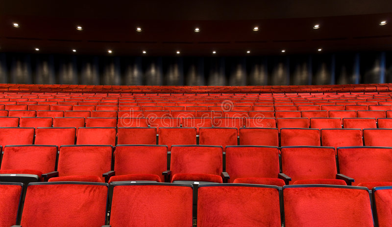 Montage de salle de concert photo libre de droits