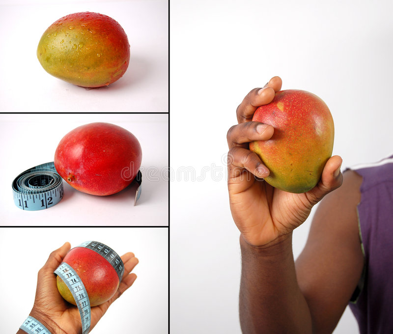 Download Montage Of Dieting Concepts - Mangoes Stock Photo - Image: 8022028