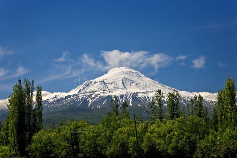 Montagem Ararat fotografia de stock