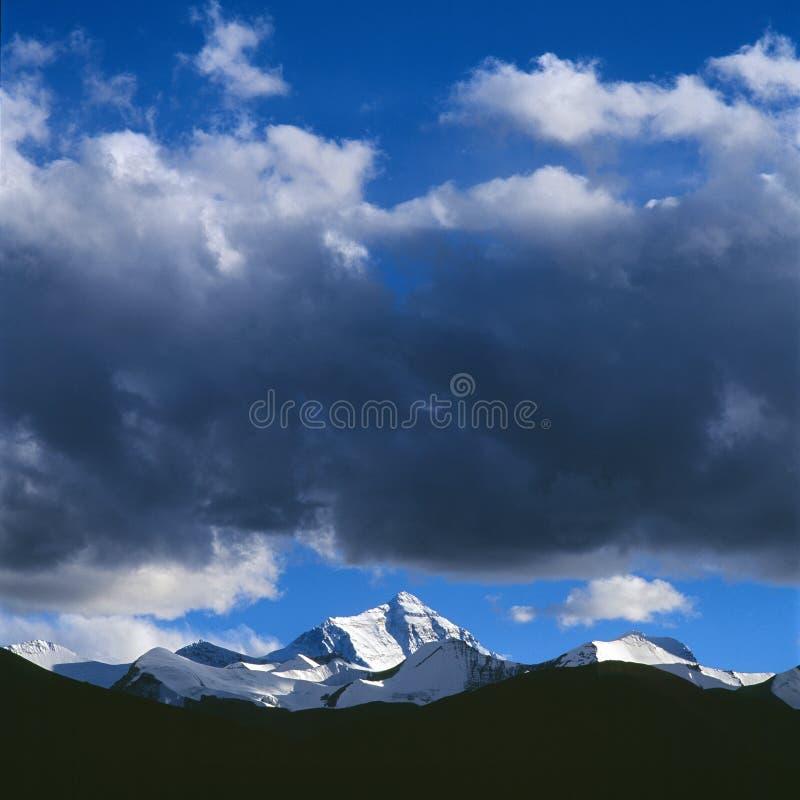 A montagem de Everest fotografia de stock royalty free