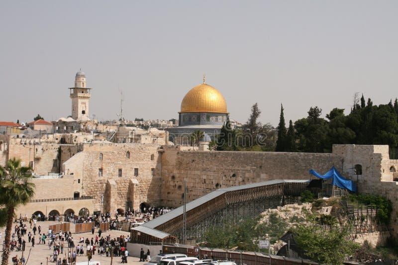 Montagem do templo em Jerusalem imagens de stock royalty free