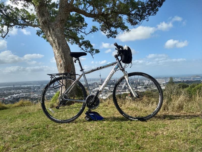 Montagem Eden da bicicleta foto de stock