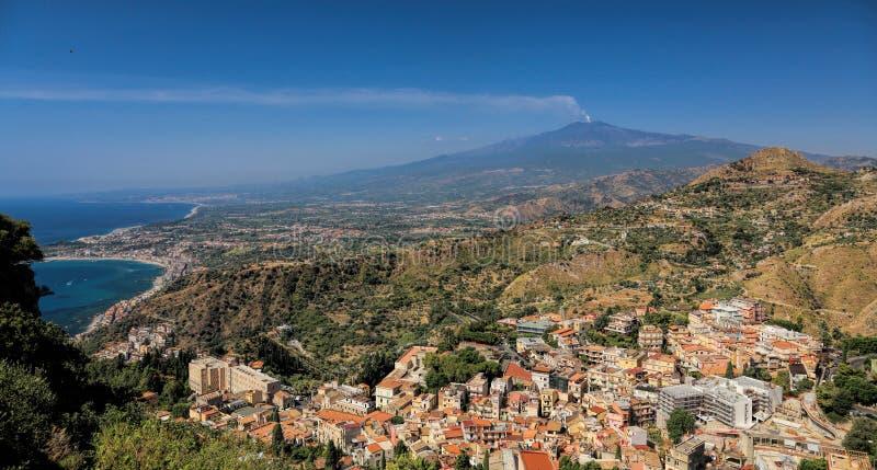 Montagem Etna imagens de stock royalty free