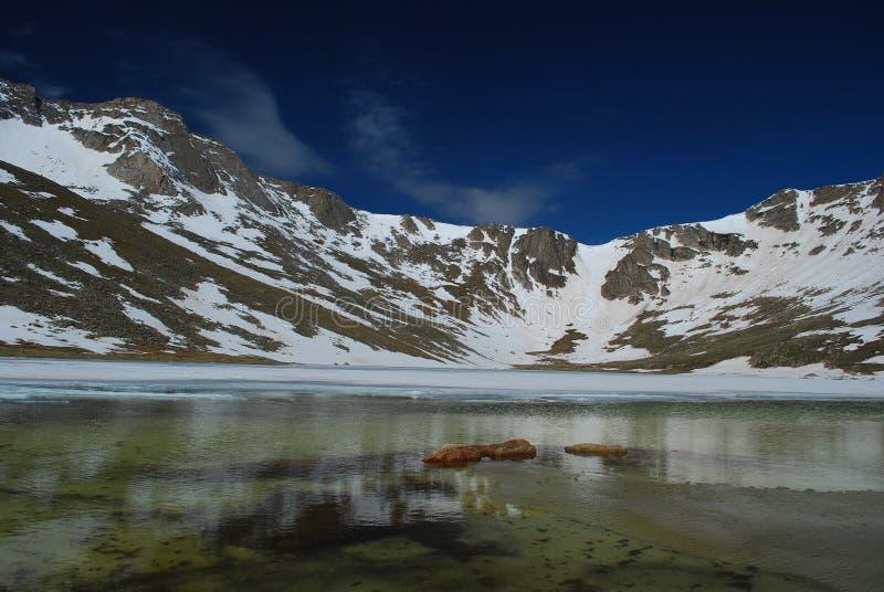 Montagem Evans de Colorado fotografia de stock royalty free