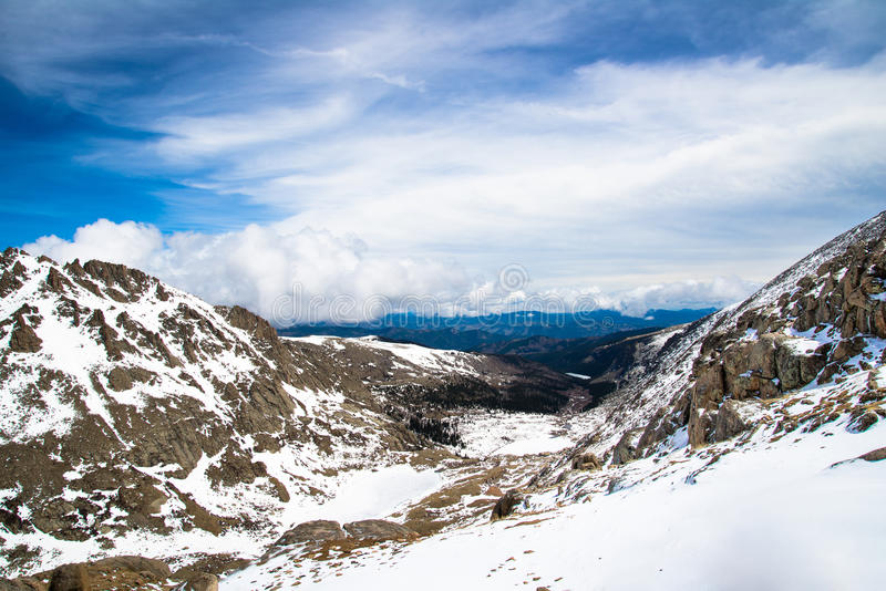 Montagem Evans Summit - Colorado fotografia de stock royalty free