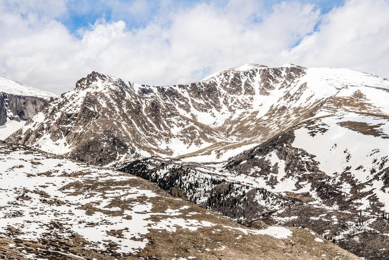 Montagem Evans Summit - Colorado imagens de stock