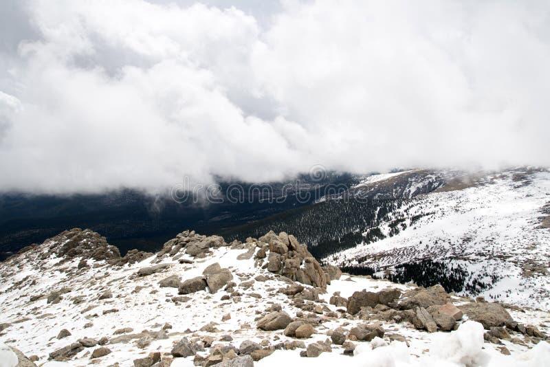 Montagem Evans Summit - Colorado fotos de stock