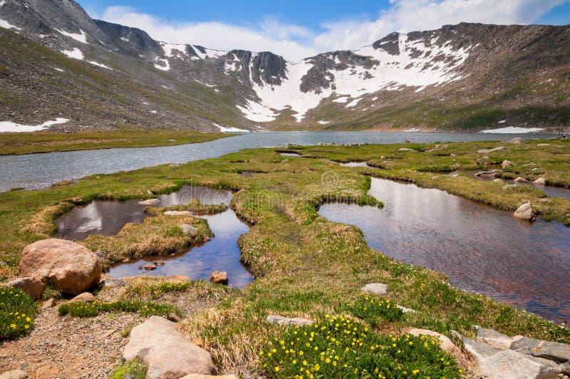 Montagem Evans Tundra foto de stock royalty free