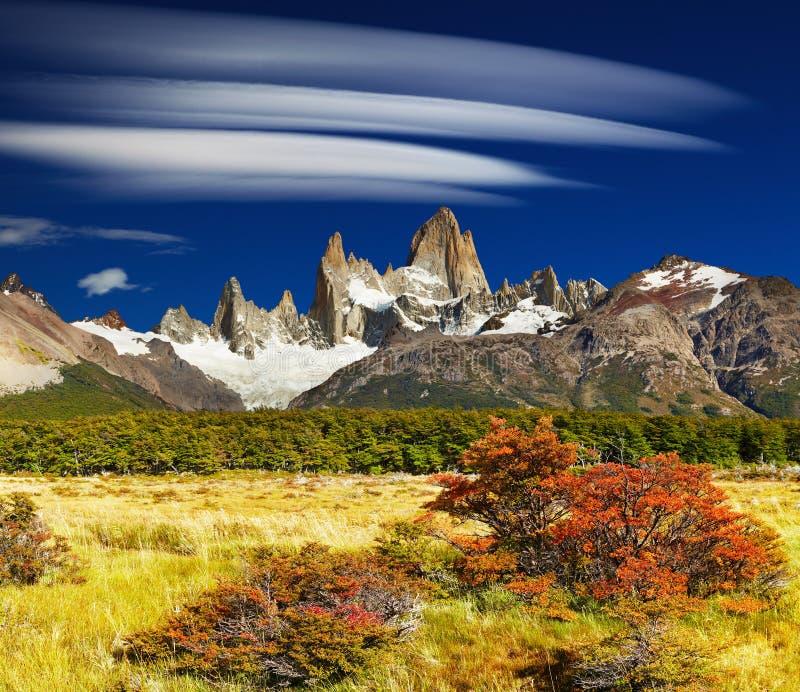 Montagem Fitz Roy, Argentina imagem de stock royalty free