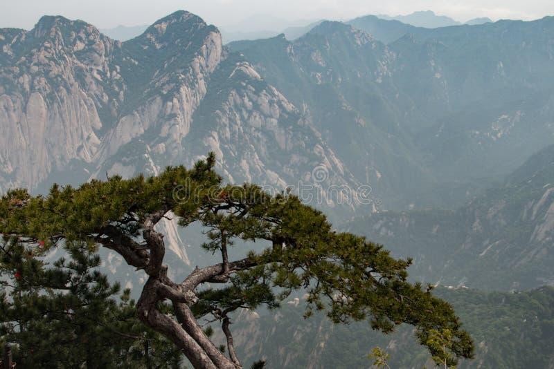 Montagem Huashan China fotos de stock