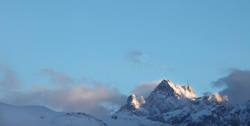 Montagem Kaldi, parque nacional de Aladaglar fotografia de stock royalty free