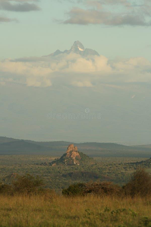 Montagem Kenya foto de stock royalty free