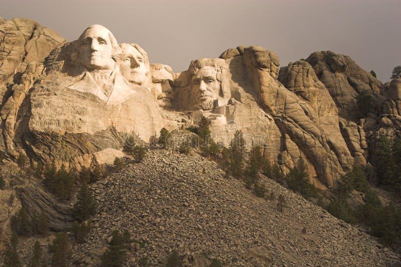 Montagem Rushmore fotografia de stock royalty free