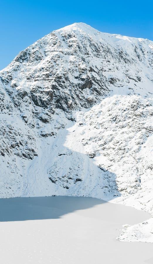 Montagem Snowdon imagem de stock