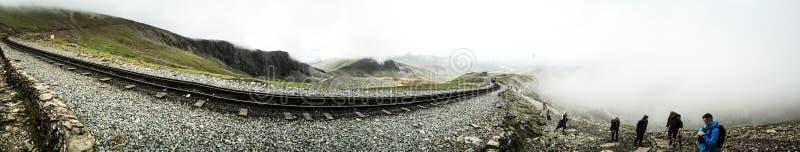 Montagem Snowdon foto de stock
