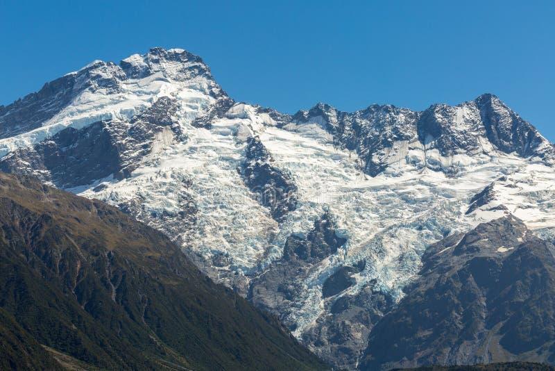 Montagem Tasman, cozinheiro National Park de Aoraki/Mt foto de stock royalty free