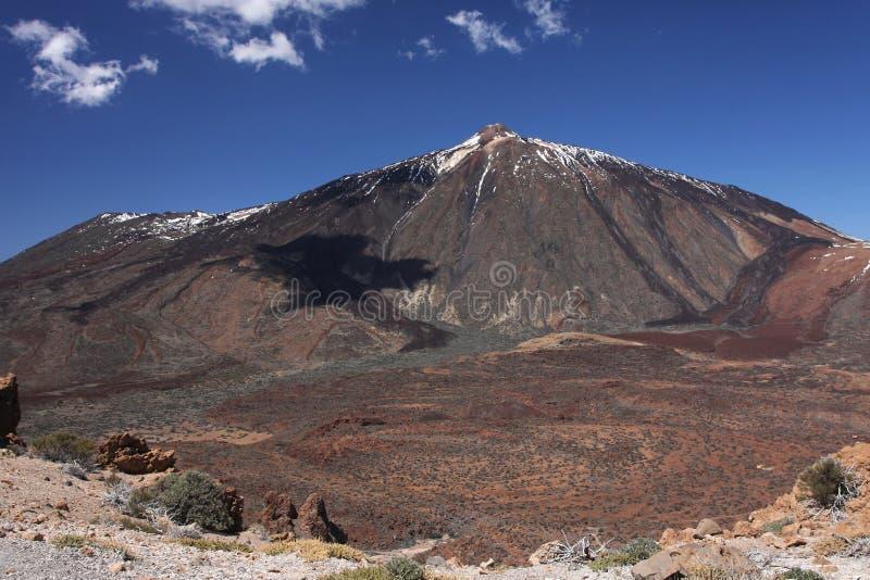 Montagem Teide imagem de stock