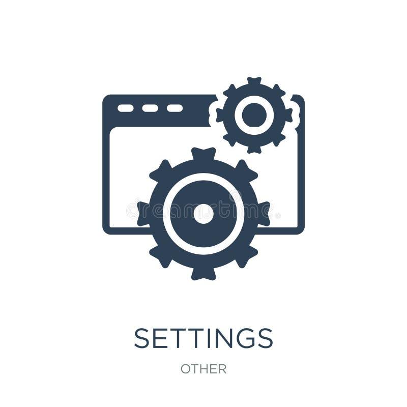 montagespictogram in in ontwerpstijl Montagespictogram op witte achtergrond wordt geïsoleerd die eenvoudige en moderne vlakte van royalty-vrije illustratie