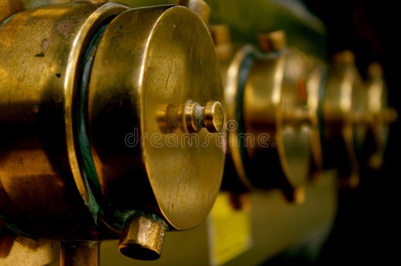 Montaggi d'ottone dell'acqua immagini stock