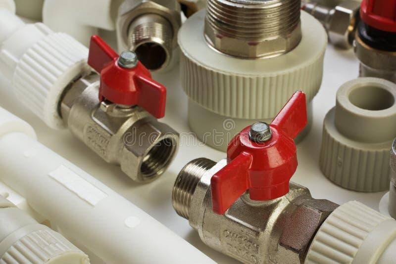 Montaggi dell'impianto idraulico fotografie stock