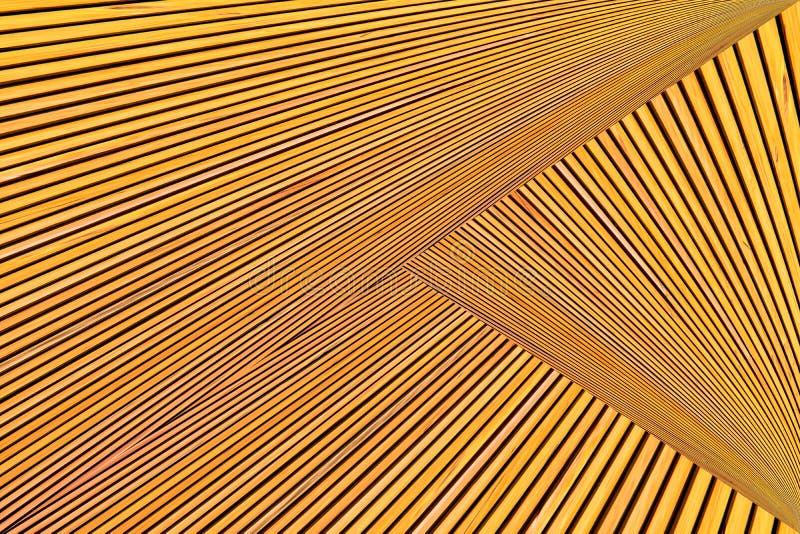 Montaggio astratto della foto di legname giallo arancione immagine stock libera da diritti