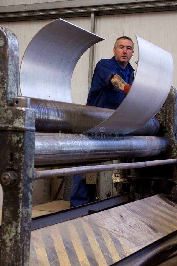 Montaggio del tubo del metallo immagine stock libera da diritti