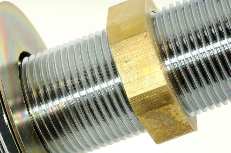 Montaggio dell'impianto idraulico immagini stock libere da diritti