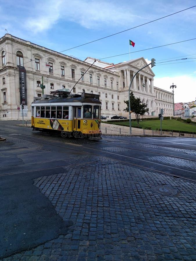 Montaggio della Repubblica a Lisbona, Portogallo immagini stock