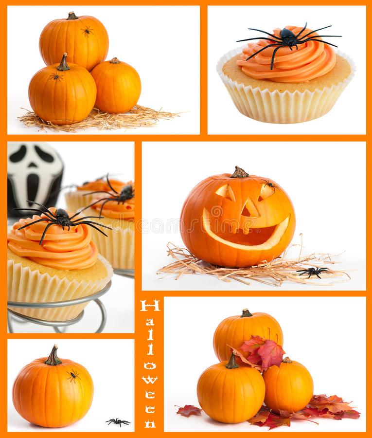 Montaggio di Halloween immagine stock libera da diritti