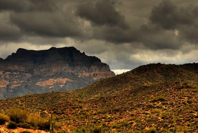 Montagna 109 del deserto fotografie stock libere da diritti
