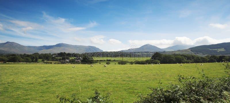 Download Montagna fotografia stock. Immagine di rurale, cieli, montagne - 208500