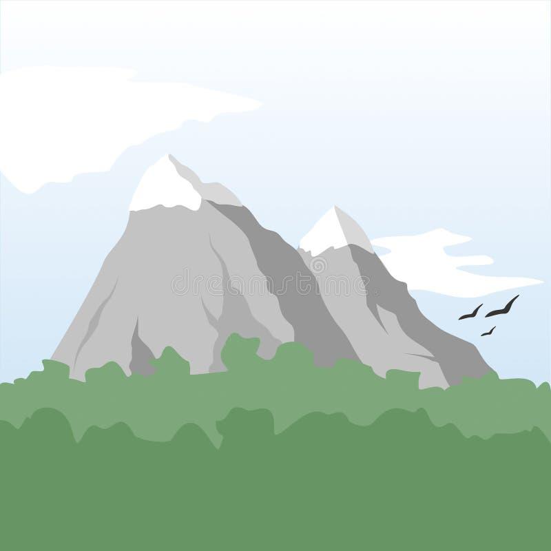 Montagna royalty illustrazione gratis