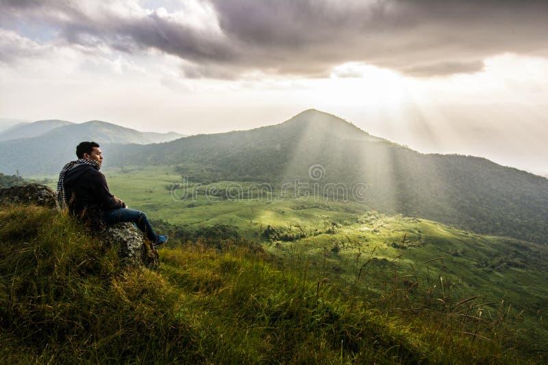 Montagna affascinante di Monchong fotografia stock libera da diritti