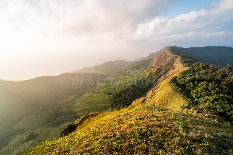 Montagna affascinante di Monchong immagini stock