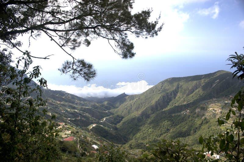 Montagna Caracas Venezuela di Waraira Repano Avila immagini stock