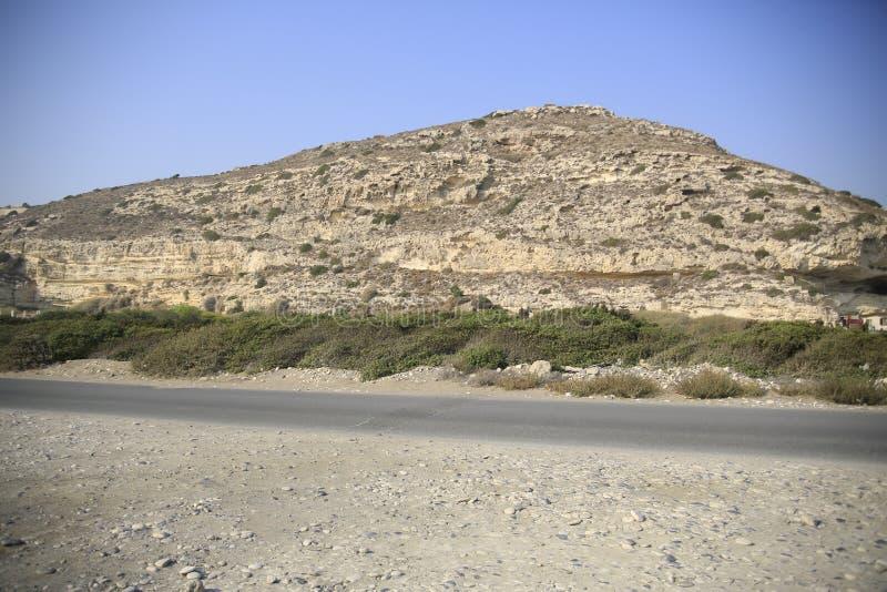 Montagna del Cipro immagine stock