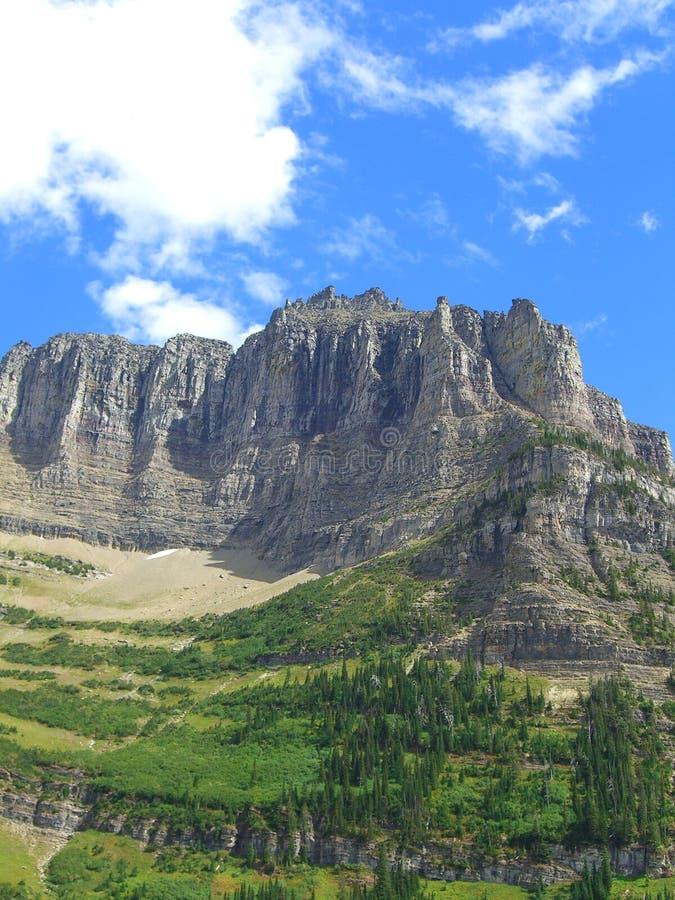 Montagna del Montana immagini stock