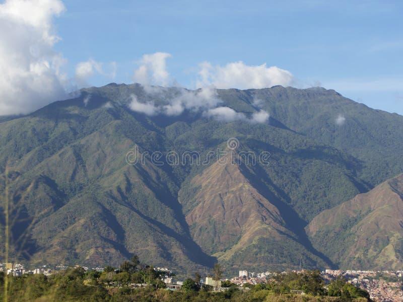 Montagna del parco nazionale di EL Avila Waraira Repano a Caracas Venezuela immagini stock libere da diritti