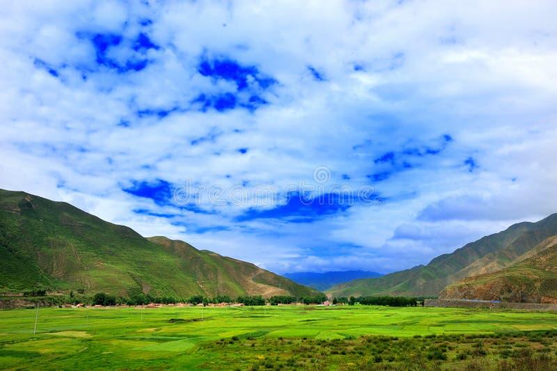 Montagna del Tibet GanNan immagine stock libera da diritti