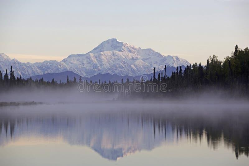 Montagna dell'Alaska Denali fotografia stock libera da diritti