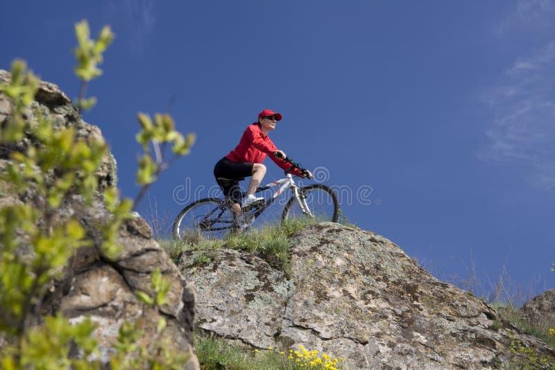 montagna della bici immagine stock libera da diritti