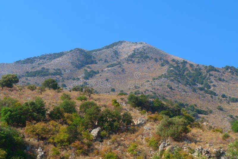 montagna della Grecia fotografie stock libere da diritti