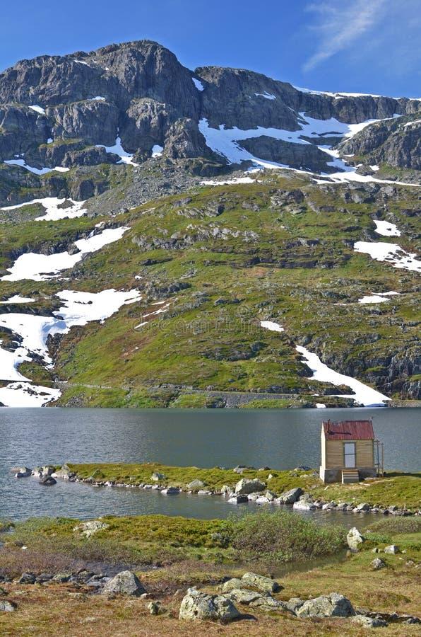 Montagna della Norvegia fotografie stock libere da diritti