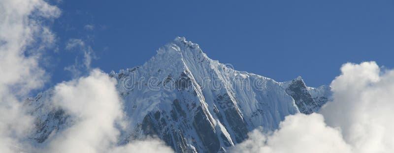 Montagna dello Snowy nel Tibet fotografia stock libera da diritti