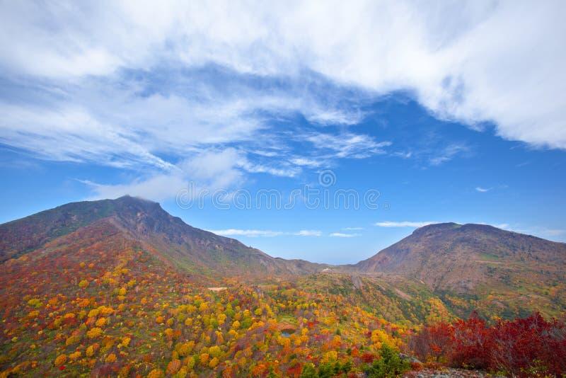 Montagna di autunno immagine stock