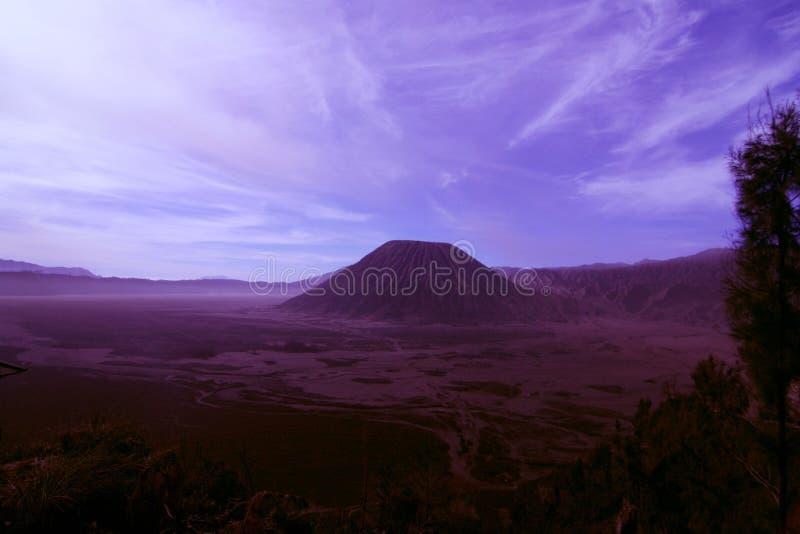 Montagna di Batok immagini stock libere da diritti