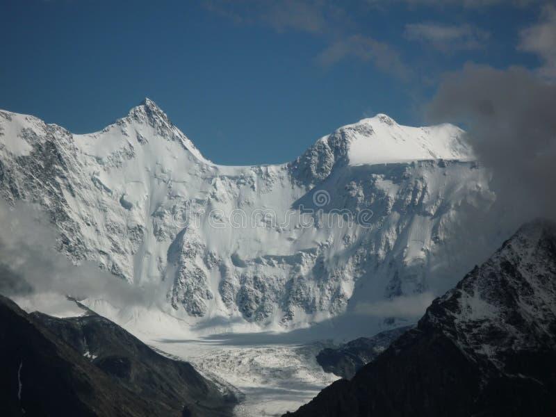 Montagna di Belukha, Altai fotografia stock
