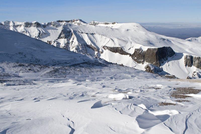 Montagna di Changbai fotografia stock libera da diritti