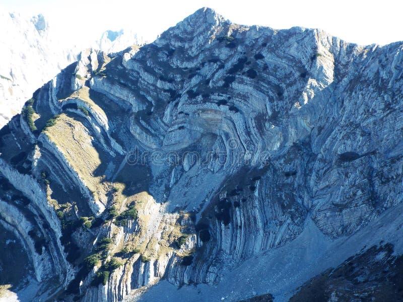Montagna di Durmitor, Monte Negro immagini stock libere da diritti