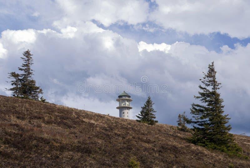 Montagna di Feldberg in Germania immagine stock libera da diritti